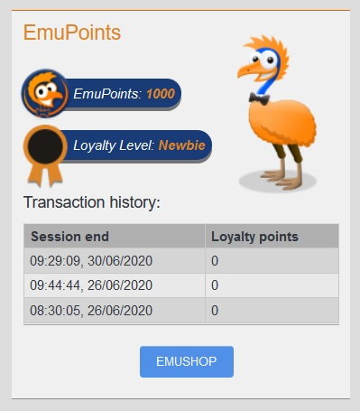 emucasino-emupoints-loyalty-programme