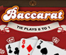 Baccarat Mobile table Game