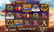 Hercules and Pegasus Slot Game screenshot image