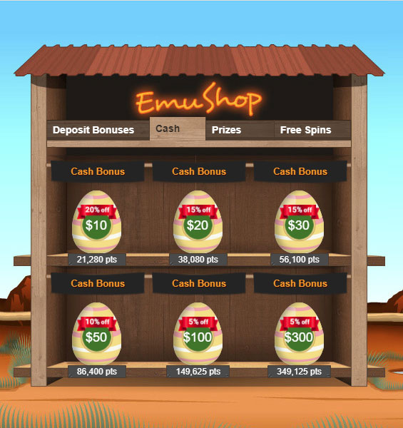 Your Easter Sale At The Emushop Emucasino