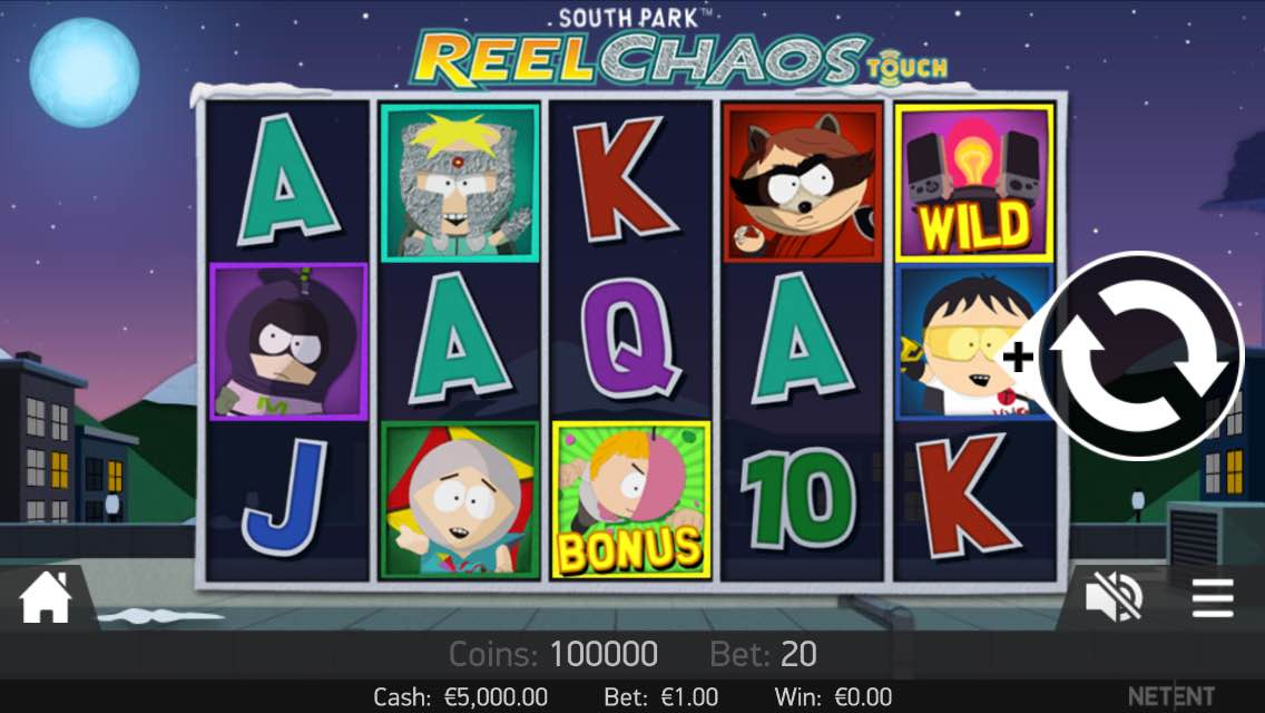 EmuCasino-mobile-south-park-reel-chaos-gameplay