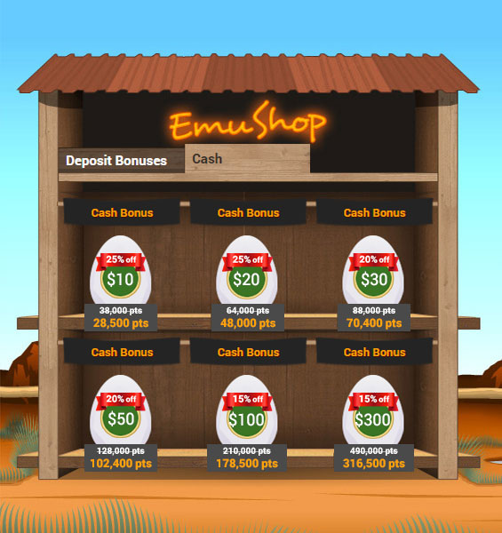 emucasino-emushop-mega-sale-cash-bonus