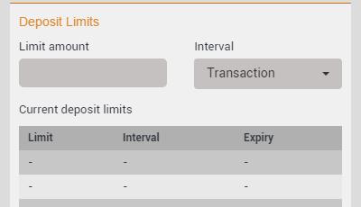 EmuCasino Deposit Limits