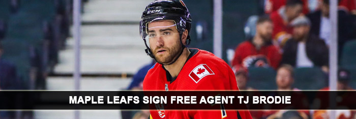 Maple Leafs Sign Free Agent TJ Brodie