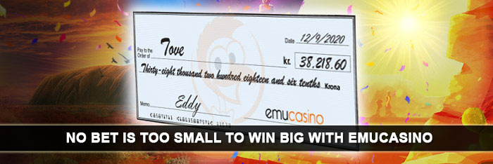No Bet Is Too Small To Win Big With EmuCasino!